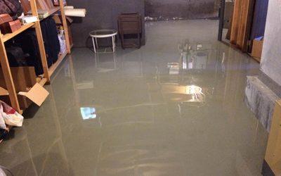 Undgå vand i kælderen